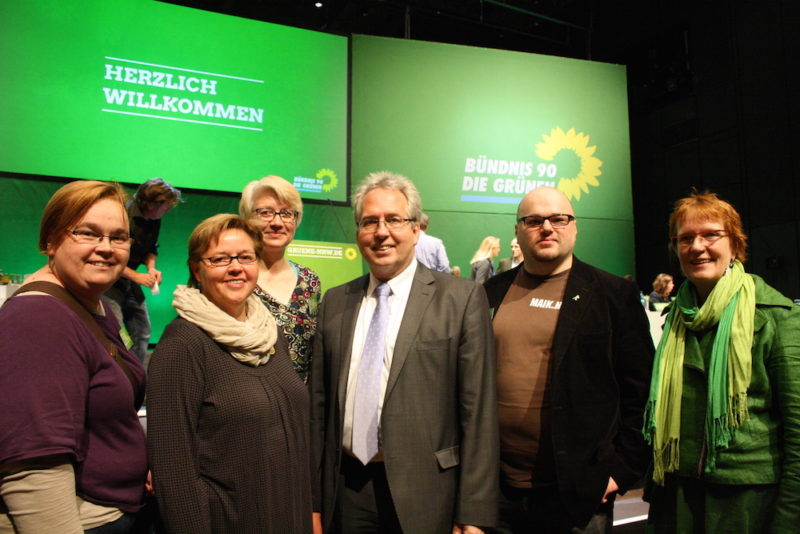 Fabiola Scheer, Regina Schlüter-Ruff, Miriam Wittemeier, Jürgen Müller, Maik Babenhauserheide, Regine Steffen